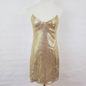 Silence + Noise Sequined Dress